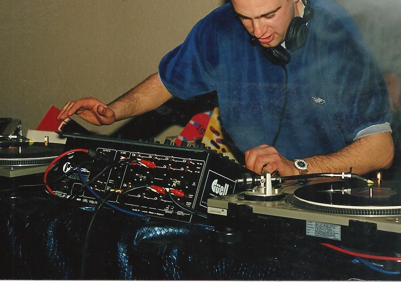 DJ Jordi Caballé Live DJ SET 242 BCN al Poble Espanyol III 001